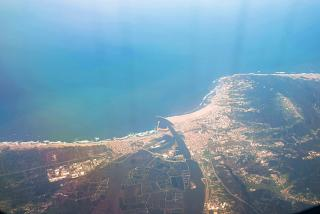 Port of Figueira da Foz in Portugal