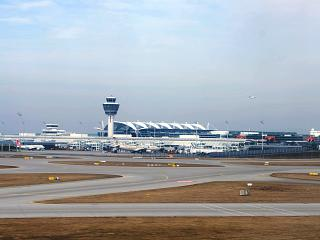 Terminal 2 of Munich airport