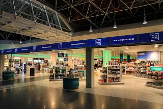 The Duty Free store in Keflavik airport