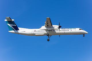 Bombardier Dash 8 Q400 C-GVWE авиакомпании WestJet Encore