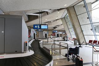 The baggage claim area in terminal 1 of the airport Paris Charles de Gaulle
