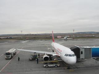Airbus A320 Air Arabia at the airport of Ekaterinburg