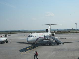 The Tu-154 PSS Russia at the airport Koltsovo