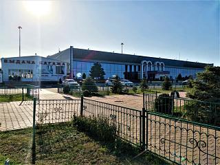 Terminal vnutrennikh vozdushnykh liniy aeroporta Makhachkala Uytash 61/5000 Terminal of domestic airlines of Makhachkala Uytash airport