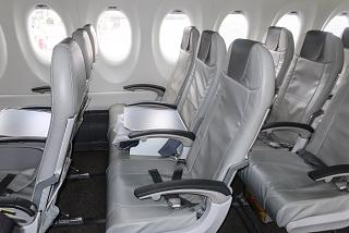 Business Class Passenger Seats on AirBaltic Airbus A220-300