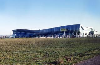 Simferopol airport passenger terminal