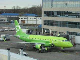 Embraer 170 S7 Airlines at Domodedovo airport