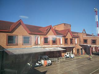 The terminal of the airport Puerto Iguazu