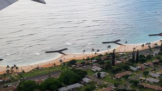 Residential neighborhood in Honolulu near the airport