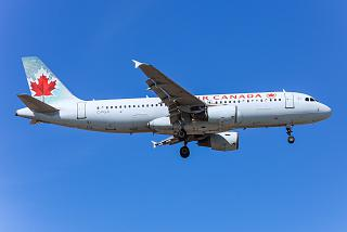 Airbus A320 C-FGJI airlines Air Canada