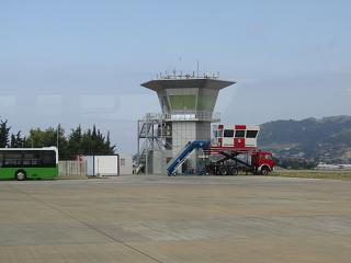 The control tower of the airport Gazipasa