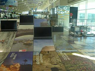 The is of the island of Sardinia in the Olbia Costa Smeralda airport
