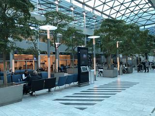 В чистой зоне терминала 2 аэропорта Копенгаген Каструп