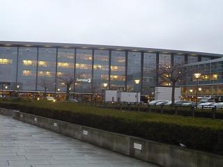 Terminal 3 of Copenhagen airport Kastrup
