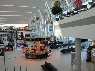 В чистой зоне аэропорта Будапешт