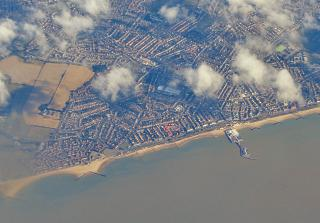 Town Clacton-on-Sea in England