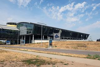 Terminal A of Leipzig Halle Airport