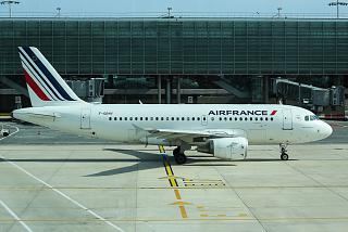 Airbus A319 F-GRHY Air France at Paris Charles-de-Gaulle