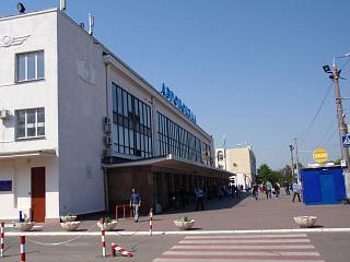 Аэровокзал аэропорта Одесса