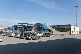 The terminal of the airport Surgut