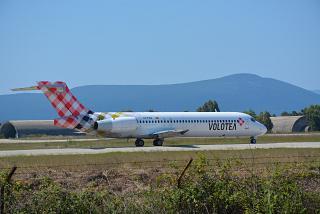 Боинг-717 авиакомпании Volotea в аэропорту Превеза