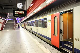 Aeroexpress from the airport in Brussels