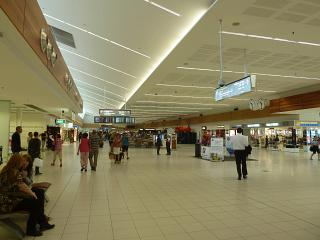 Clean area at the airport Adelaide