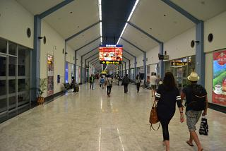 The gallery of gates at the airport Colombo Bandaranaike international