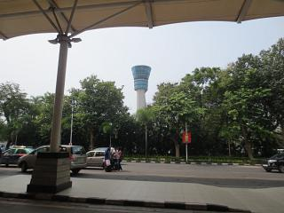 The control tower, Mumbai airport
