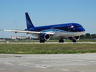 Airbus A320 4K-AZ79 Azerbaijan airlines at Boryspil airport