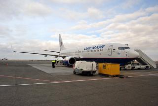 Боинг-737-800 авиакомпании Orenair в аэропорту Симферополь