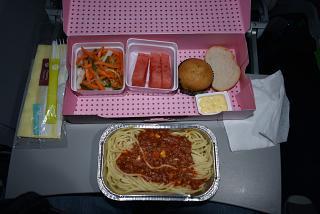 On-Board power supply on the S7 Airlines flight Hong Kong-Irkutsk