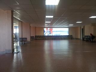 Зал ожидания в чистой зоне аэропорта Чита Кадала