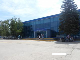 The terminal of the airport Anapa Vityazevo