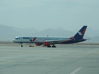 "Boeing-757-200 of airline ""Katekavia"" at the airport of Hurghada"
