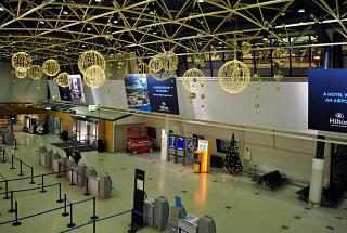 The terminal T1 of the airport Helsinki Vantaa