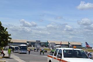 Вид на новый терминал 2 аэропорта Пунта-Кана