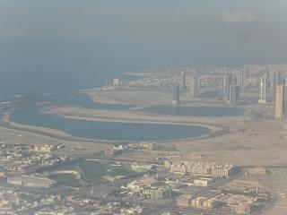 Takeoff from Dubai airport