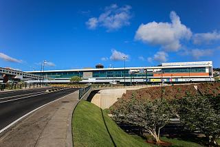 Аэровокзал аэропорта Фуншал на острове Мадейра
