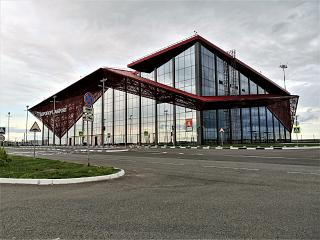 New Terminal A of Saransk Airport