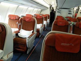 "Business class ""President"" in the Airbus A330-300 Aeroflot"