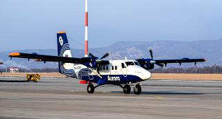 "Aircraft DHC-6-400 Twin Otter RA-67285 ""Aurora airlines"""