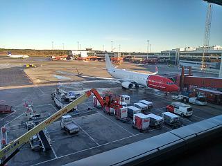 Перрон аэропорта Стокгольм Арланда