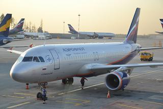 "Airbus A320 ""N. Przewalski"" Aeroflot at Sheremetyevo airport"
