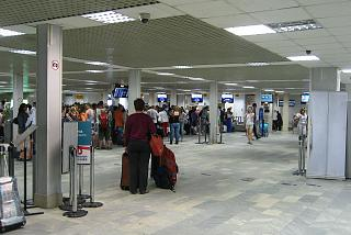 Hall check-in international terminal Pulkovo-2