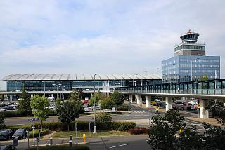 Terminal 2 of Prague Vaclav Havel International Airport