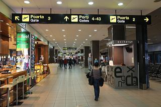 В чистой зоне аэропорта Бухарест Генри Коандэ