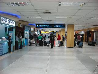 Arrival hall of Phuket airport