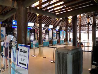 Reception at Samui airport