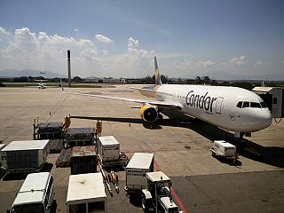 Boeing-767-300 Condor airlines at the airport of Rio de Janeiro Gale
